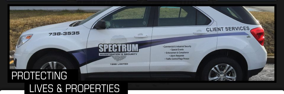 Protecting Lives & Properties, truck